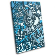 Graffitti Abstract Illustration - 13-0209(00B)-SG32-PO